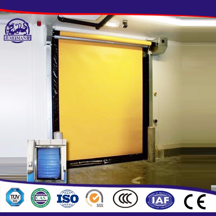 Energy-Efficient Automatic Electric Pvc Roll Up Door