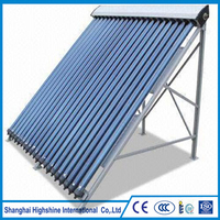 Dongguan Beinuo Glass Pipe Material and Manifold Collector Type Shentai Parabolic Solar Pressurized Heat Certificated