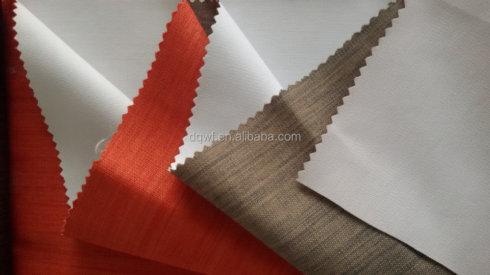 100% polyester blackout fabric for curtains