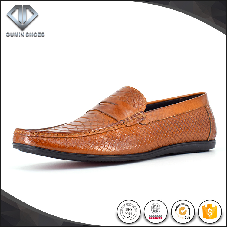 leather flat shoes loafer chuassure moccasins shoes for men