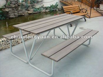 recycled picnic tables and benches, picnic tables