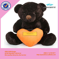 Lovely big size teddy bear with a love heart