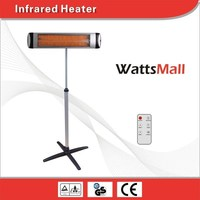 3000W Long Wave Patio Far Infrared Electric Garage Heaters 220V