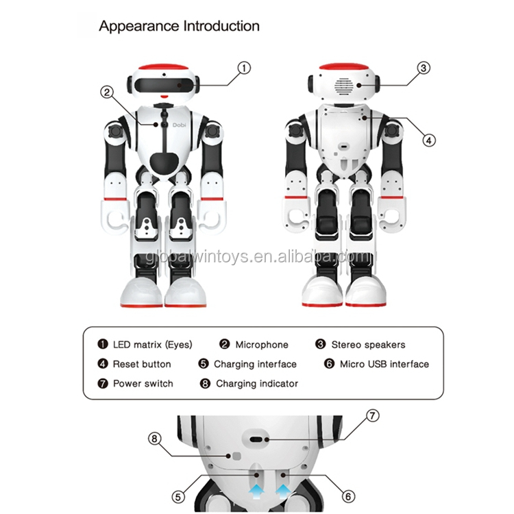 WLtoys F8 Dobi robot with voice control multifunctional intelligent rc robot for kids gift.jpg