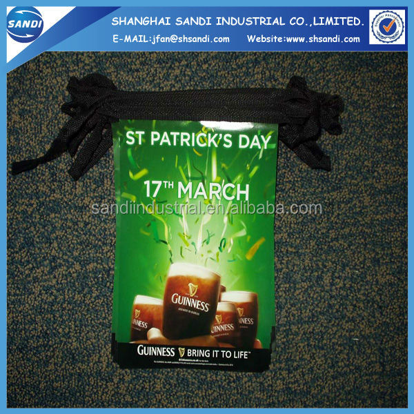China factory custom luminous bunting flag