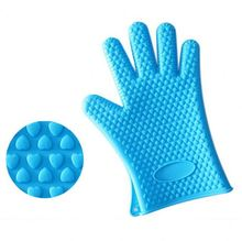 Fancy Silicone Rubber Oven Glove Gloves long rubber gloves with low price