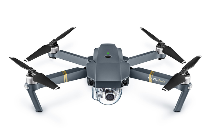 DJI Mavic Pro Drone With 4K HD Camera, Built in OcuSync Live View GPS and GLONASS System