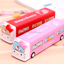 cheap promotional car shape candy box truck shaped tin pencil case pen box
