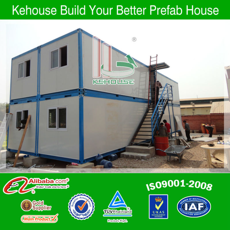 prefabricated light steel container sheds/offices