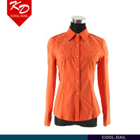 2016 latest design girls shirts casual clothing fashion shirts for women sexy ladies blouse and top