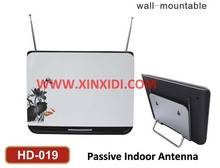 Digital Indoor Antenna HD-019 with VHF and UHF reception_Nice appearance