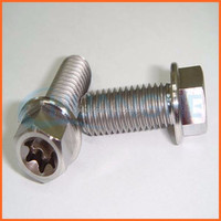 Factory price anti-theft cap head aluminum anodized screws