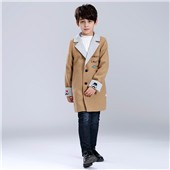 Children kids fashion casual wears child clothing winter coats