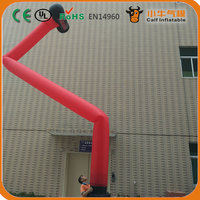 hammer inflatable air dancer with blower ,inflatable sky dancer for advertising