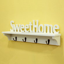 Decorative Wood letter crafts hang on wall