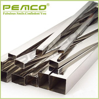 factory wholesale price 304 304L 316 316L stainless steel welding square pipe