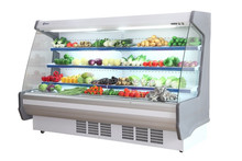 Remote Type Upright Refrigerated Display Case with Copeland Compressor