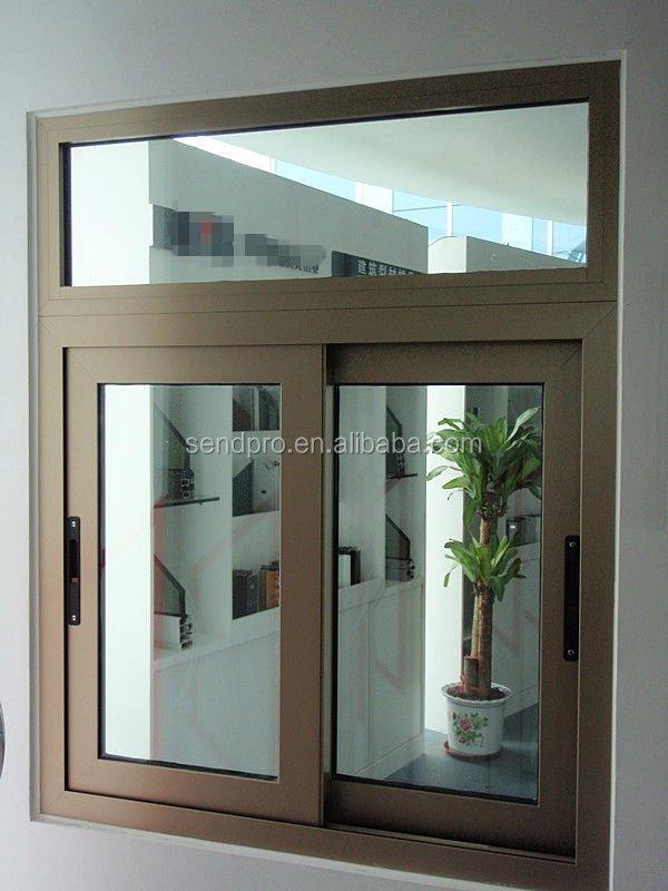 Price Aluminium Sliding Windows Double Glazed Aluminium Sliding