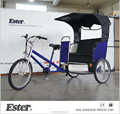 Passenger ESTER Rickshaw Price /Bike-Taxi/Pedicab Rickshaw with New Waterproof Lines for sale