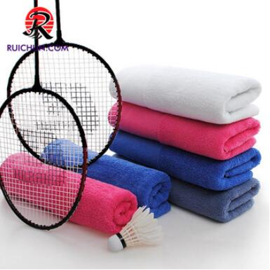 good quality cotton pattern with hook grommet embroidered golf towel
