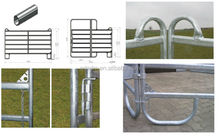 Fence yard galvanized temporary horse cattle fence panel