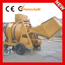 Top quality JZR350 diesel concrete mixer for sale in canada
