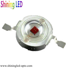 Epileds Epistar Chip 1W 3W High Power Deep Red 670nm 680nm 690nm LED for Plant lighting, blood oxygen detection
