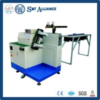 Large power motor stator coil winding machine with auto toolings