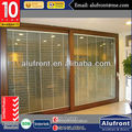 AS2047 Aluminum lift and sliding door /glass wall with large panels galss