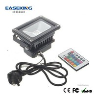 Economical price 10 watt RGB flood light fixture LED with CE/RoHS/FCC