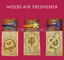 2016 die cut WOOD car air freshener/freshner