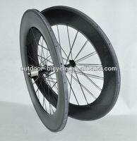 carbon wheel 2013 new model 88mm full carbon tubular wheelset road bike 700C wheels hot selling