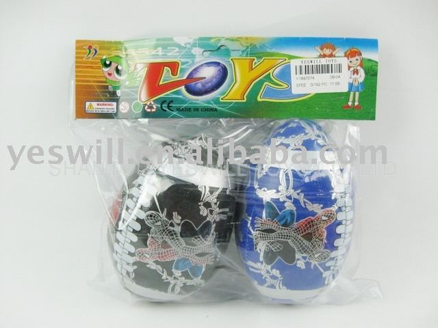 4''New spider man Ball (blue /black)