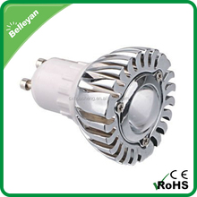 Led spot 12v aluminium housing, 1w long range spotlight, ul mr16 led spot light