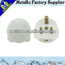 ABS English penis plug with three pin 13a 250v