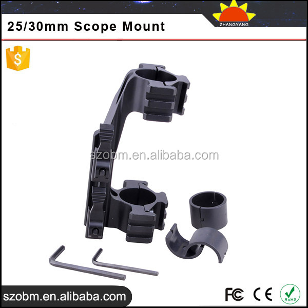 Adjuestable Mdual Ring Quick Intant Attach And Detach Action 25/30mm scope Mount