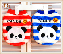 new 2015 hot small and large dog clothes in the autumn and winter panda round collar dog hoodies
