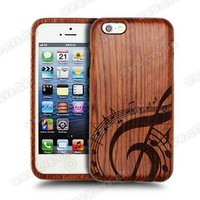 Laser Engraving Different Logo Made Of Natural Wooden For Iphone 5s Case.