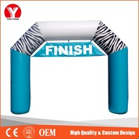 New Type Inflatable Finish Line Arch for Sport Event