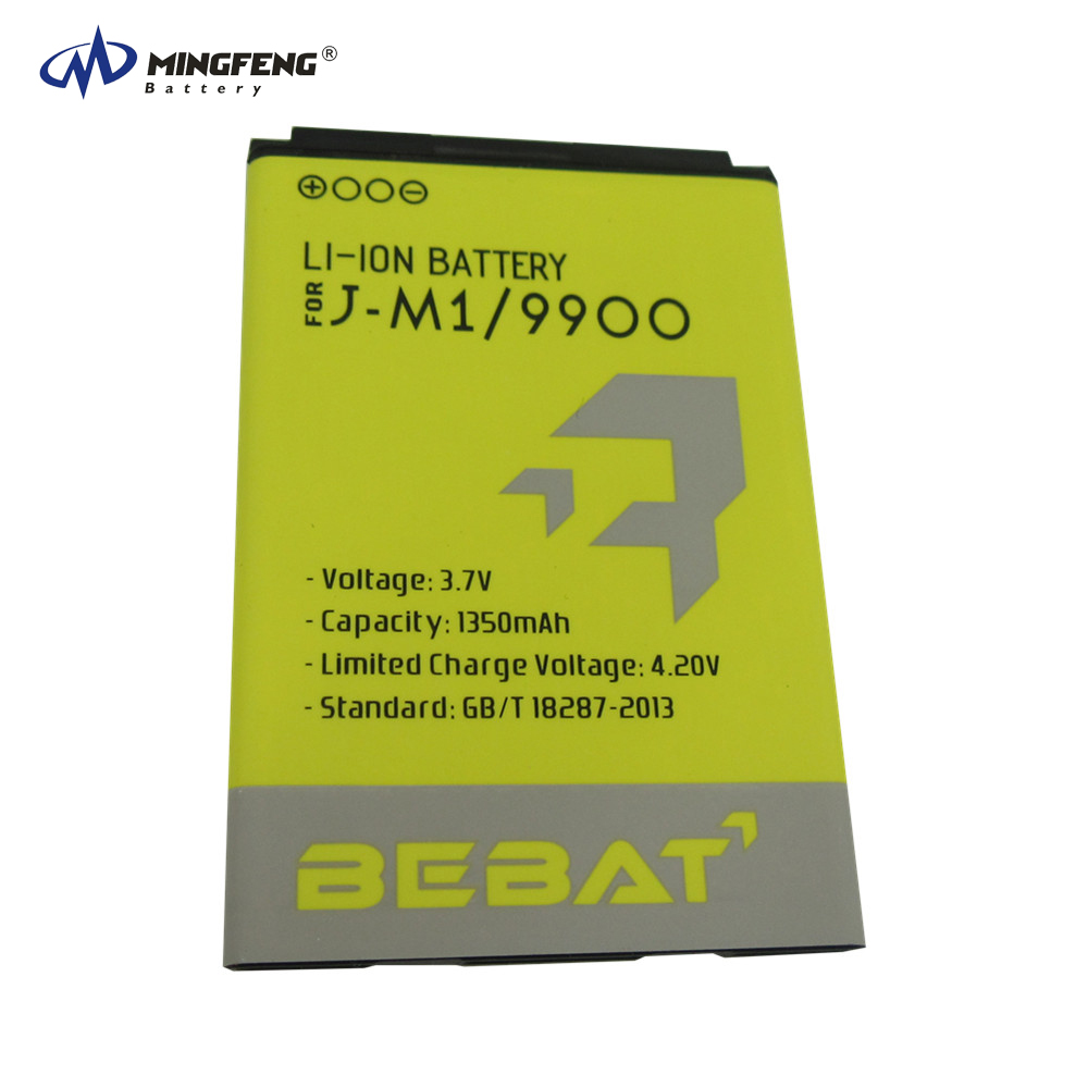 OEM manufacturer 3.7v 1350mAh gb/t 18287-2013 mobile phone battery JM1 for Blackberry 9900 9930 9850 9860 9790 9981 9380