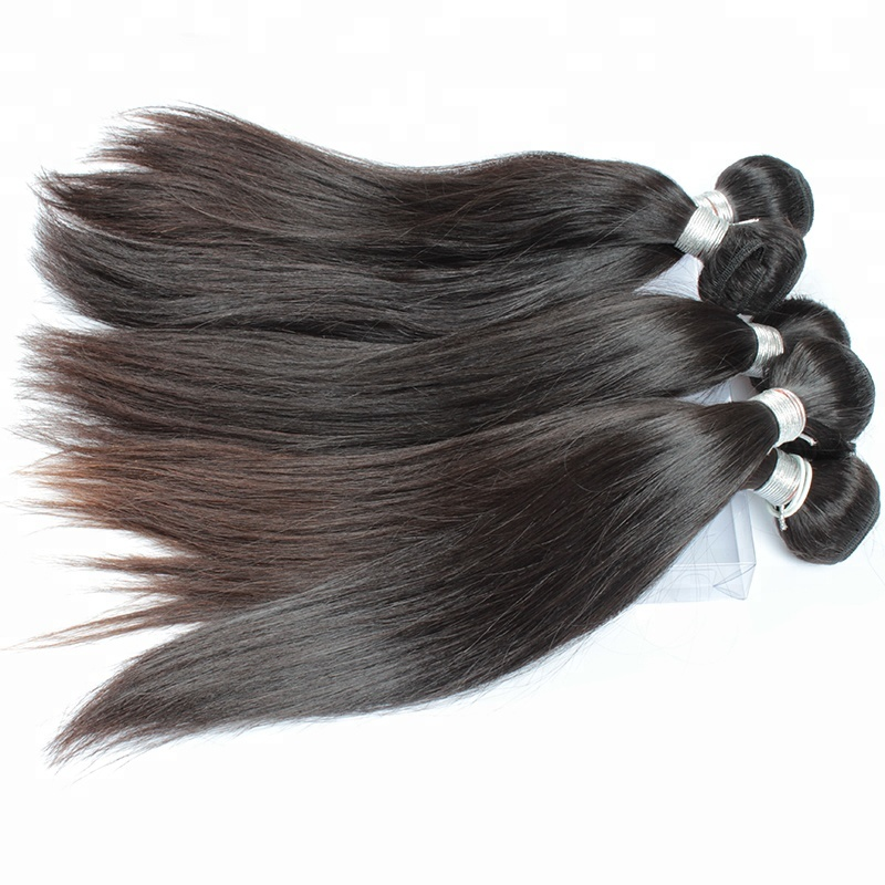 10A Virgin Cuticle Aligned <strong>Hair</strong> 100g human <strong>hair</strong> virgin chinese <strong>hair</strong> weaving