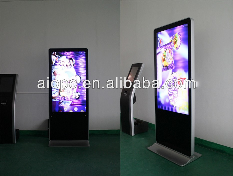 55 inch standing digital signage,totem,advertising player