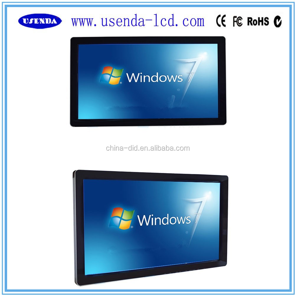 42 46 55 65 inch Industry All In One IR Touch Screen PC Monitor