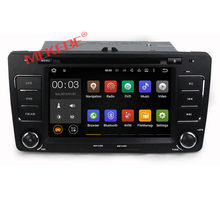 Cheap price Android 7.1 car radio dvd player for VW Skoda OCTAVIA 2012 2013 with DVD GPS navigation BT 4G wifi 2GRAM+16GROM