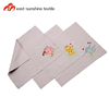 Brand new silk screen printing logo microfiber cloth for eyeglasses