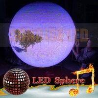 Sphere led Display with jumbotron screen for indoor use Mobile, hanging install, set install, full in aluminum construction desi
