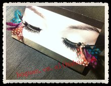 fashion natural fake eyelash extensions glue in korea