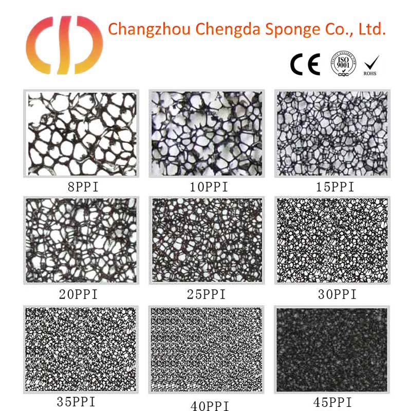 activated carbon roll large high foam sound absorbing foam mat