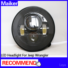 LED Headlight 1st G for jeep wrangler headlight 7 inch led headlight for jeep car accessories