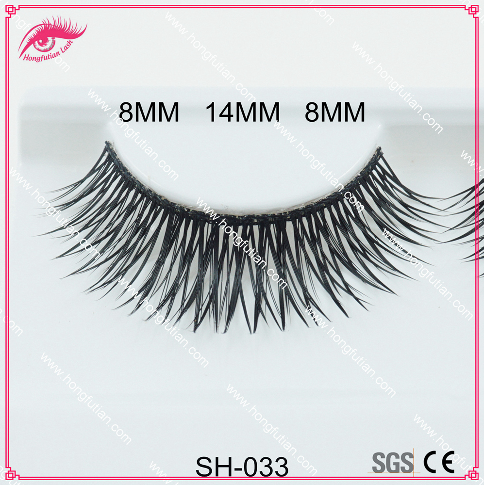 Eyelashes Extensions Synthetic Hair Lashes Private label package Faux Mink lashes